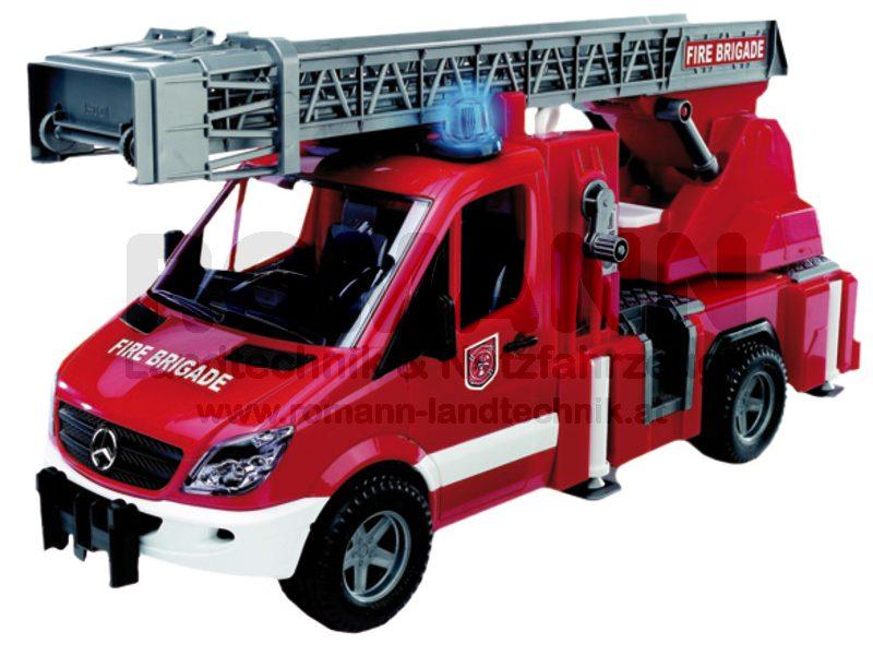 Mercedes Benz Sprinter Feuerwehr mit Drehleiter, Pumpe und L&S Module