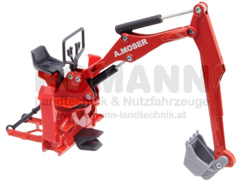 Moser Heckbagger für Traktoren
