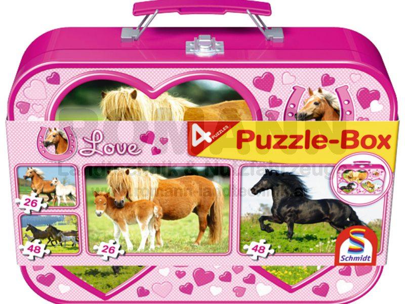 Pferde, Puzzle-Box