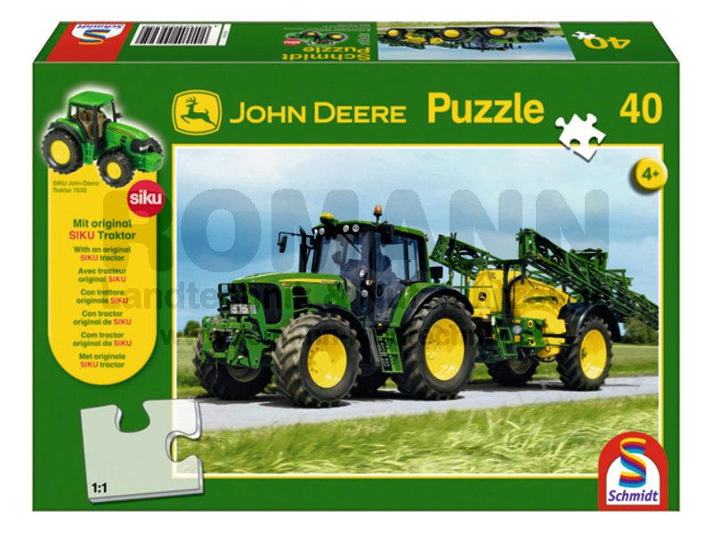 John Deere 6630 mit Feldspritze