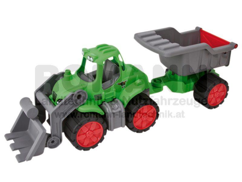 Power-Tractor Muldenkipper
