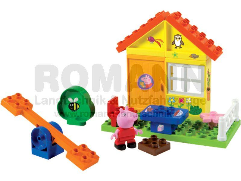 BLOXX Peppa Pig Gartenhaus