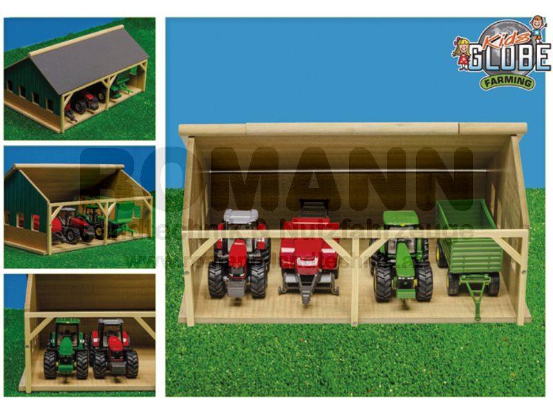 Unterstand für Traktor