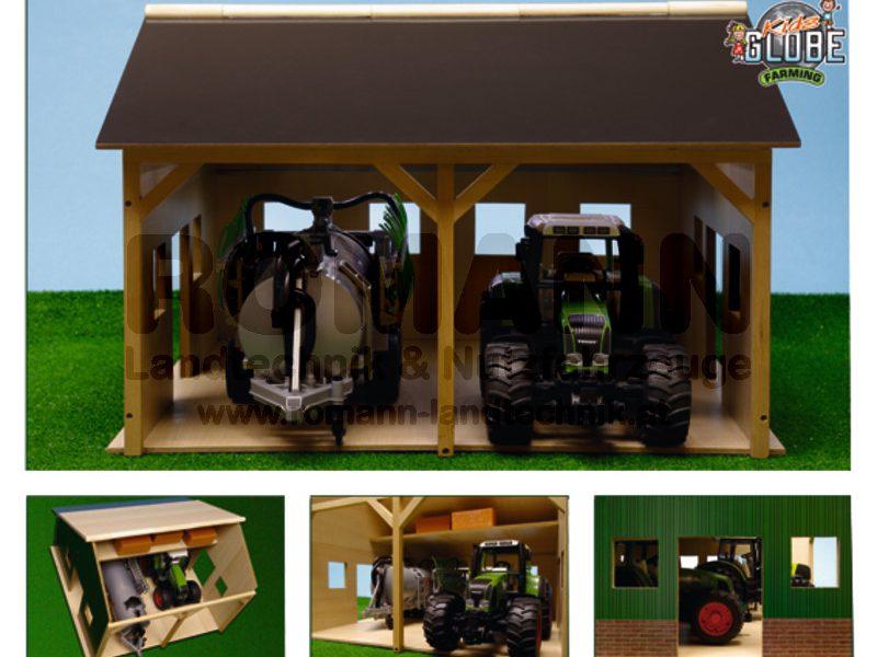 Holz Traktorschuppen